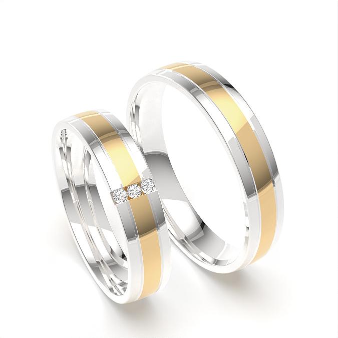 Passendes Ehering für Damen und Herren