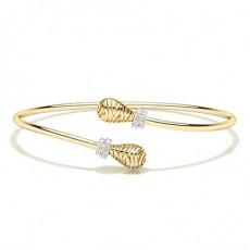 Yellow Gold Bangles Bracelets