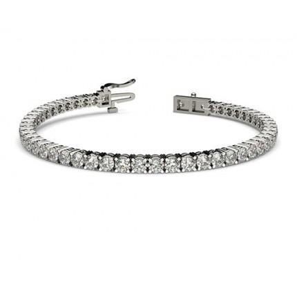 Bracelet tennis diamant 4 griffes
