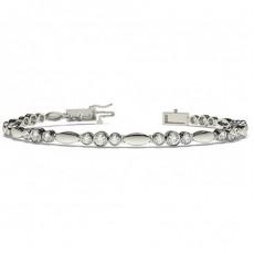 Platin Designer-Armbänder