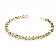 Gelbgold Designer-Armbänder