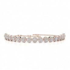 Prong Set Diamond Bracelet