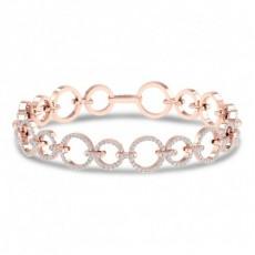 Rose Gold Diamond Tennis Bracelets