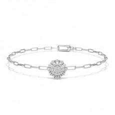White Gold Everyday Bracelets