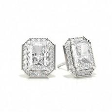 Radiant Diamond Earrings