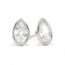 Tropfen Diamant Ohrstecker Ohrringe