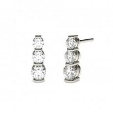 Round Journey Earrings