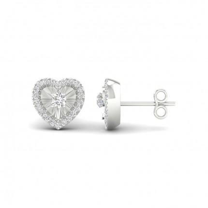Designer Ohrstecker Diamant
