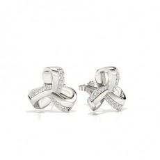 Platin Everyday Earrings