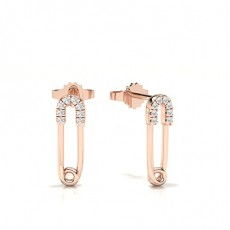 Rose Gold Everyday Earrings