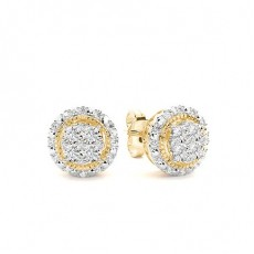 Yellow Gold Everyday Earrings