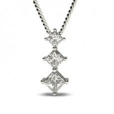 Princess Journey Pendants Necklaces