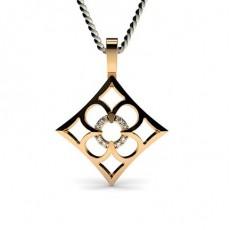 Rose Gold Delicate Pendants