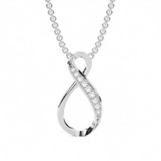 Platin Designer Anhänger Halsketten