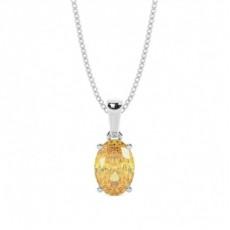 Gelber Diamant Anhänger