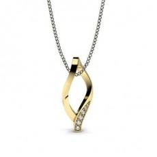 Yellow Gold Designer Pendants