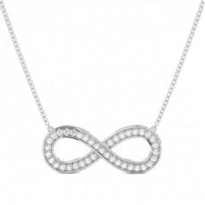 Round Designer Pendants Necklaces