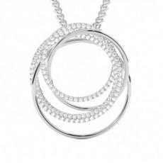 Brilliant Designer Anhänger Halsketten