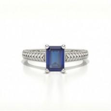 Emerald Vintage Engagement Rings