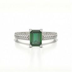 Smaragd Smaragd Diamantringe