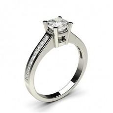 Kissen Seitenstein Diamantringe