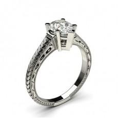 Pear Vintage Engagement Rings