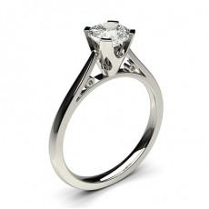 Kissen Solitär Diamantringe