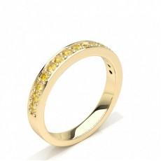 Yellow Gold Yellow Diamond Rings