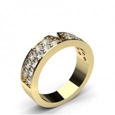 Gelbgold Diamant-Eheringe