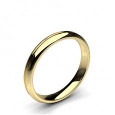 Women's Yellow Gold Wedding Rings