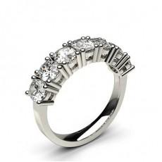 Oval Diamond Eternity Rings