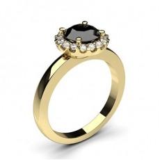 Gelbgold Verlobungsringe
