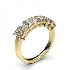 Yellow Gold Contemporary Engagement Rings