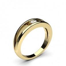 Yellow Gold Promise Diamond Rings