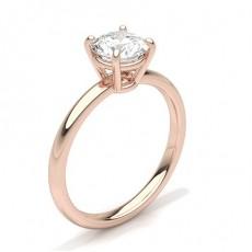 Diamantringe Rotgold
