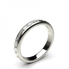 3.00mm Eternity Diamant Ring in einer Kanalfassung