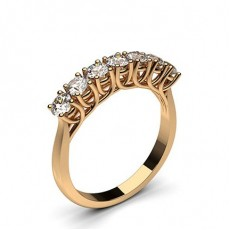 Rose Gold Contemporary Engagement Rings