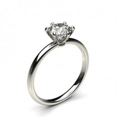 Round Engagement Rings