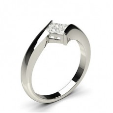 Princess Promise Diamond Rings