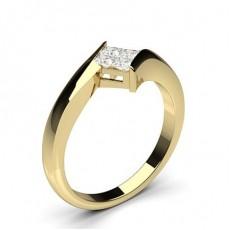 Gelbgold Cluster Ringe