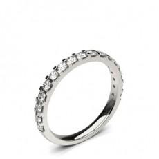 Weißgold Diamant-Eheringe