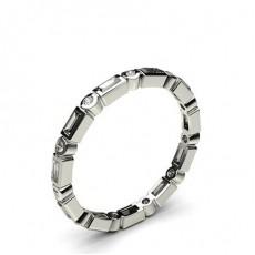 Round Diamond Full Eternity Rings