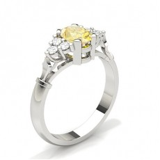 Gelber Diamant Verlobungsring