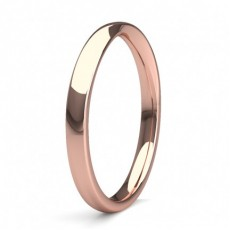 Rose Gold Cheap & Affordable Wedding Bands