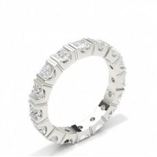 Princess Diamond Full Eternity Rings