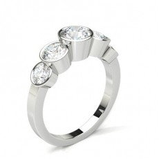 ague épaulée halo diamant noir serti 4 griffes