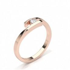 Rotgold Zierliche Ringe