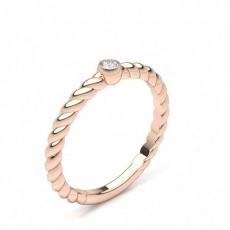 Rose Gold Cheap & Affordable Engagement Rings