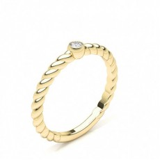 Yellow Gold Cheap & Affordable Engagement Rings