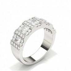 Princess Anniversary Diamond Rings